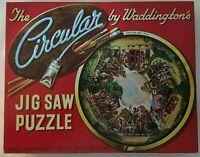 Waddingtons Circular Jigsaw Puzzle No 514 Penny Farthing Horse & Cart 500 Pieces