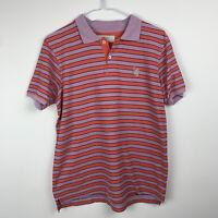 Mens Pringle of Scotland Striped Polo - Size Medium - Golf