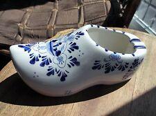 Vintage DELFT bleu blanc peinte à la main bouchent Posy Ash Tray Grande Taille de trou