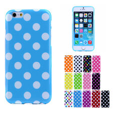 Polka Dot Soft Case Cover for iPhone 4s SE 6s Plus Samsung Galaxy S4 S5 S6 Edge