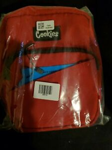New Cookies Sf Smellproof Clyde Nylon Small Shoulder Bag Red