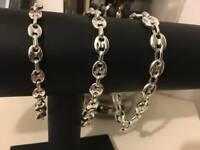 Bracelet Graines Café homme Femme gourmette en Acier NEUVE Bijoux NEW argentée