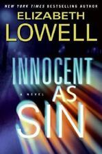 INNOCENT AS SIN: A NOVEL By Elizabeth Lowell (2007, Hardcover) 1st Edition Book