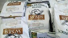 WMS Brassica Blend Deer Food Plot 10 lbs!Treated w DeltAg Seed Coat Plants1 Acre