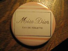 Miss Dior Eau De Toilette Christian French Advertisement Pocket Lipstick Mirror