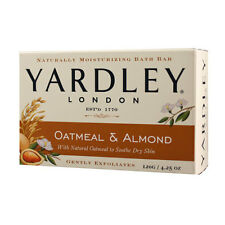Lot of 20 Yardley London OATMEAL & ALMOND Bar Soap Soaps 4.25 oz Soothe Dry Skin