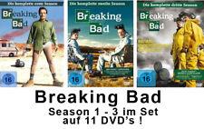11 DVDs * BREAKING BAD - SEASON / STAFFEL 1 - 3 IM SET # NEU OVP  <