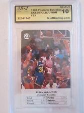 1988 AKEEM OLAJUWON #23 MINT GRADED GEM-MT 10 BASKETBALL CARD    BOX W
