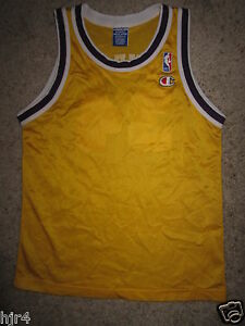 Shaquille Oneal #34 Los Angeles Lakers Champion hype beast Jersey Youth Sm 6-8