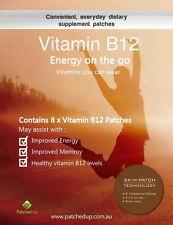 Patched Up Methyl Vitamin B12 Transdermal Patches B-12 Methylcobalamin