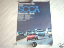 PORSCHE WINS SCCA 1980 SUPER POSTER