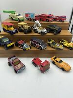 16 Hot Wheels Loose Mixed Lot Diecast Stomper Redline 70's 80's 90's