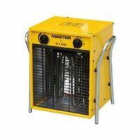 Generatore D'aria Calda Stufa Elettrica 4,5/9 Kw Master B9 Con Ventilatore