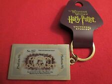 Wizarding World of Harry Potter London to Hogwarts Ticket Keychain