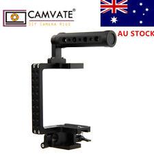 AU CAMVATE DSLR Camera Cage Handle Rig for GH4 GH3 BMPCC A7 A7ii A7S A6000 A5100