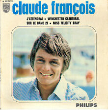 CLAUDE FRANCOIS J'ATTENDRAI FRENCH ORIG EP