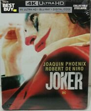 Joker- 4K UHD/Blu-ray/Digital - New Best Buy Steelbook (Sold out)