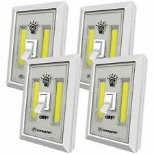 4 Pack Night Light, LED 200 Lumens Emergency lights Switch Cordledd Portable