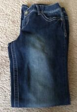 Maurices Womens Premium Dark Jeans Stitched Jeans Size 9/10 Long
