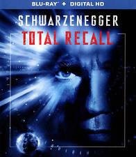 TOTAL RECALL (Blu-Ray Disc + Digital HD W/Ultraviolet), <BRAND NEW!> (FREE SHIP)