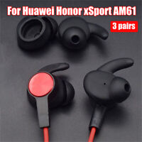 Hook Earbuds Tips Eartips Silicone Earphone Cover For Huawei Honor xSport AM61