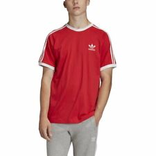Camiseta adidas 3-Stripes Rojo Hombre