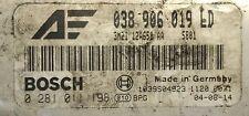 Calculateur moteur VW Ford Galaxy 1.9 TDI 038906019LD 0281011198