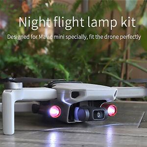 For DJI Mavic Mini 2 Drone Accessories Night Flying LED Light Searchlight Lamps