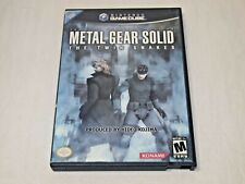Metal Gear Solid THE TWIN SNAKES (Nintendo GameCube) COMPLETE IN CASE!!