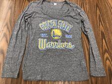 New SF Golden State Warriors  Long sleeve Women's L Shirt NWOT NBA New Era