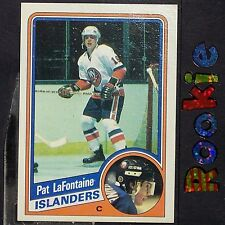 PAT LaFONTAINE  RC  1984/85  Topps  #96  New York Islanders  ROOKIE