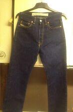 ladies indigo/dark blue diesel industry fellow designer jeans size 27 petite