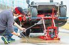 Garden Lawn Mower Lift Repair Jack Tractor ATV Hydraulic Blades Zero Turn Safety