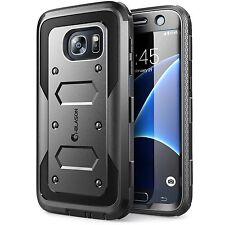 Samsung Galaxy S7 caso Dual Layer copertura costruito nel SCREEN PROTECTOR SUPER RESISTENTE