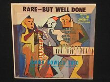 JIMMY ROWLES TRIO ~ Rare, But Well Done ~ U.S. Mono LIBERTY LRP 3003 - 1954 jazz