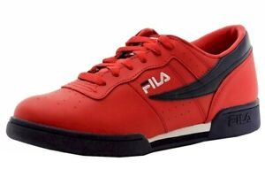 Fila Original Fitness Sneakers Red/Navy/White Men's Shoes