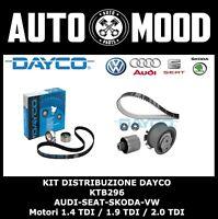 DAYCO KIT DISTRIBUZIONE AUDI SEAT SKODA VW MOTORI 1.4 1.9 TDI  PER 038198119C