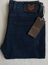 Gucci dark blue wash jeans