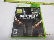 Call of Duty: Black Ops LTO Edition - Xbox 360 GAME, MANUAL, CODE