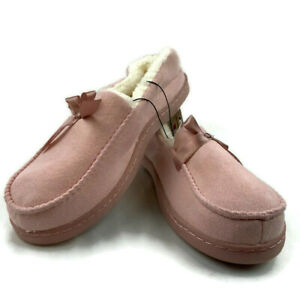 Ladies Med. (8-9) Pink Bobbie Brooks House shoes Slippers
