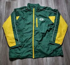 New listing Green Bay Packers NFL Fullzip Jacket Mens Size 2XL