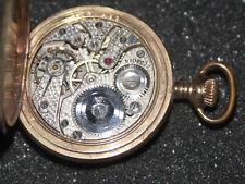 Savonette Vergoldet G.A.Comstock Taschenuhr Intakt 15 Jewels