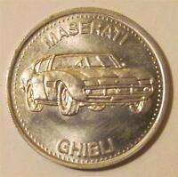 Hot Wheels Maserati Ghibli Shell Coin '72 Premium Hotwheels