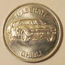 Hot Wheels Maserati Ghibli Shell Coin '72 Premium Hotwheels