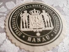 Siegelmarke - Staatsanwaltschaft b.d. koen. Preuss. Landgericht Hanau