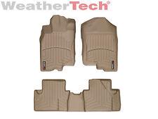 WeatherTech FloorLiner Mat for Honda Insight - 2010-2014 -1st/2nd Row - Tan