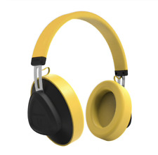 Bluedio Bluetooth 5.0 Headphones Wireless Voice Control Yellow