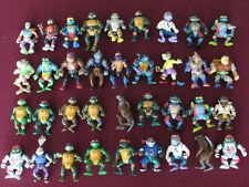 Vintage 1988 Playmates TMNT Action Figure Lot of 51