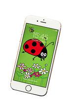 LADYBIRD Phone screensaver/wallpaper - fits all phones. DIGITAL download.