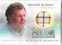 Fringe Seasons 3 & 4 Wardrobe Costume Relic Card Walter Bishop M18 M-18